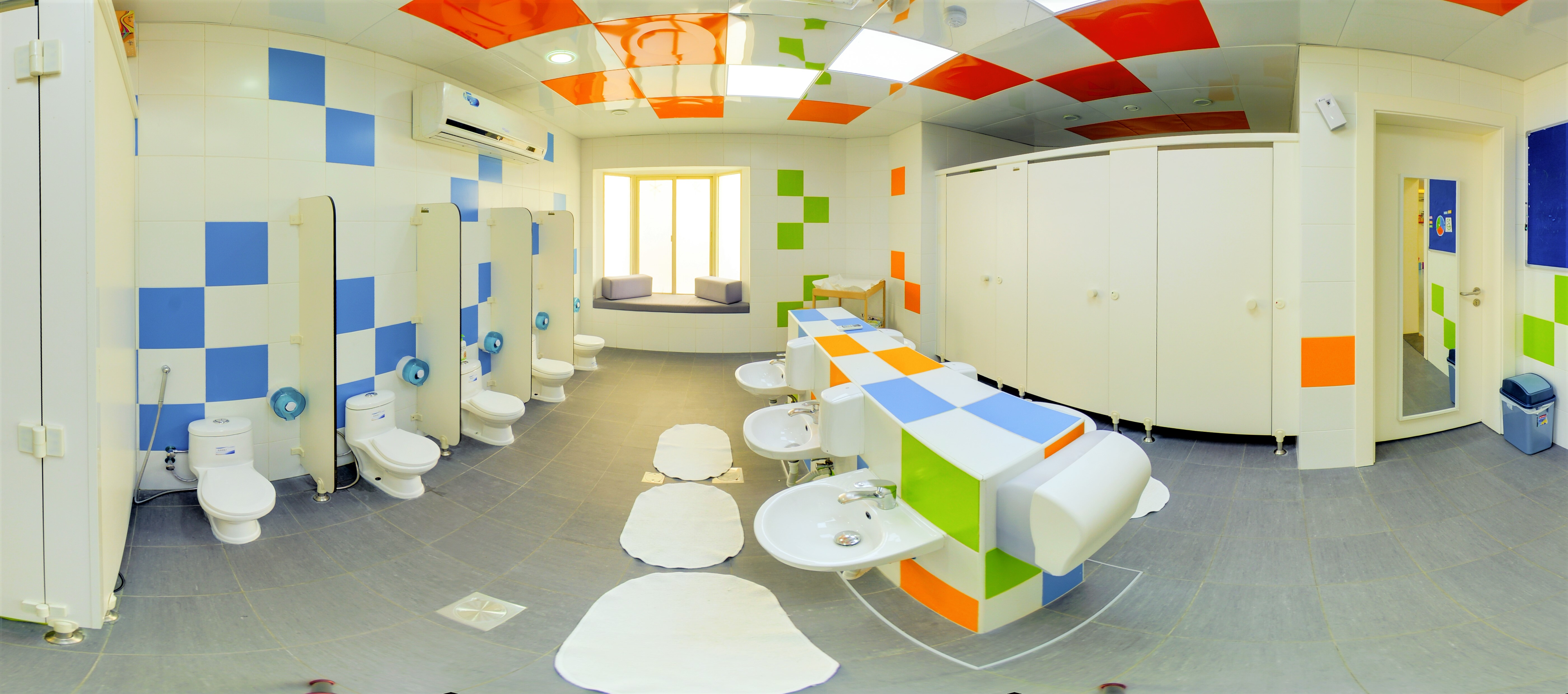 Clean Washroom for your child